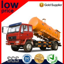 Special Price SINOTRUK Waste Chemical Liquid Suction Tanker Truck