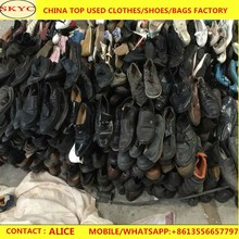 Wholesale italy men leather used shoes second hand shoes in bulk for African men wholesale