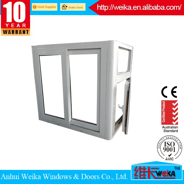 China manufacturing hot selling restaurant upvc sliding window