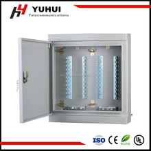 300 pair distribution box ,indoor&outdoor wall mount metal box, telephone distribution box,