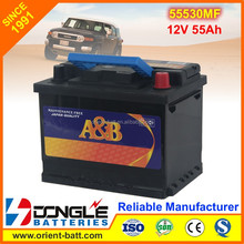High Germany Quality Sealed Maintenance Free Car Battery 55530MF