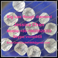 Factory supplier of big size white color Rough Diamond for sale