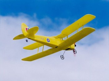 GWS Tiger Moth 400 model plane