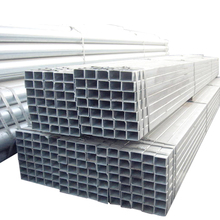 With coupling square hollow iron bar