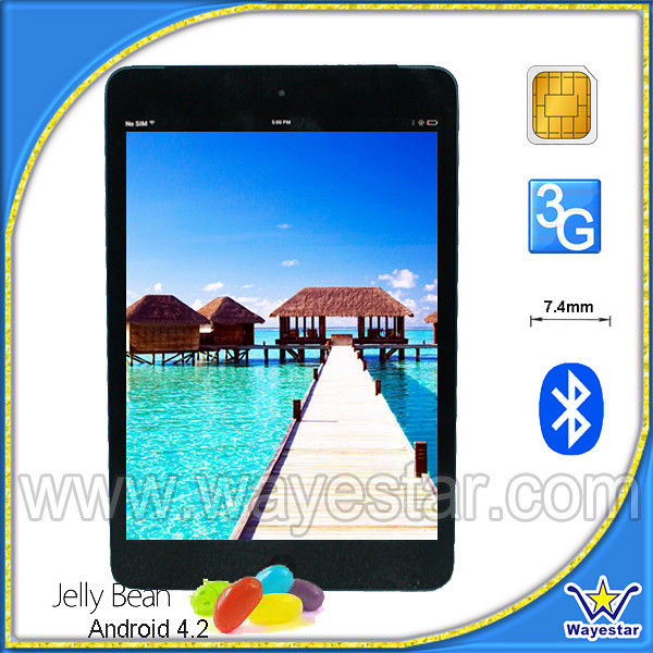 7.85 inch Mini Pad Android 4.2 MTK6589 Quad Core 2 Cameras GPS HDMI Bluetooth WI-FI 1G/8G