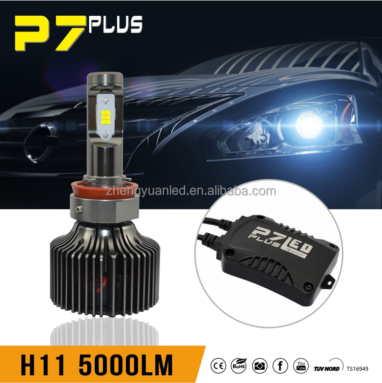 Headlight led h11 bulb car led bulbs smd h11 car led headlight h4 h7 h11
