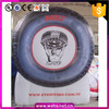 customized inflatable tyre balloon advertising replicas tyre