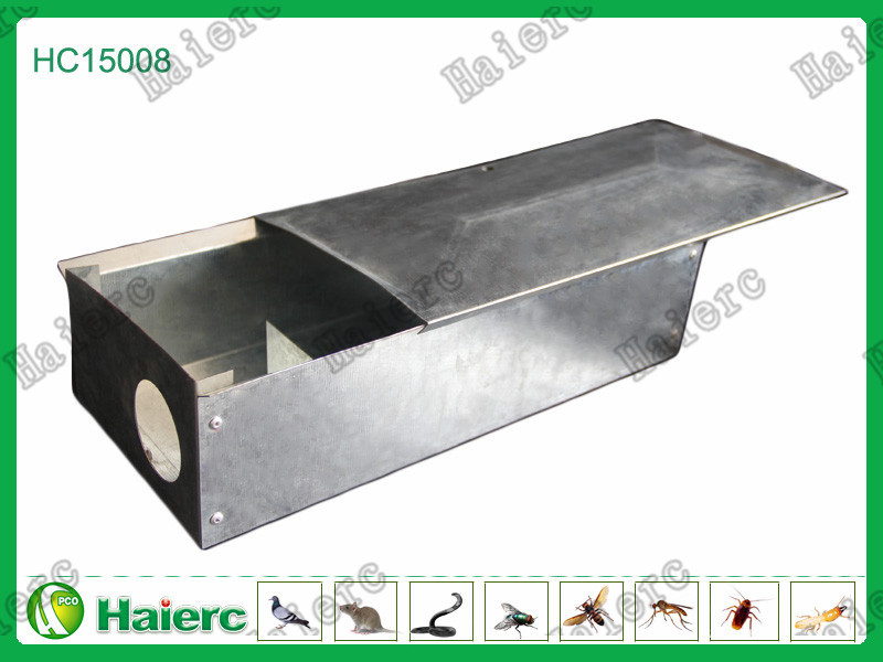 Haierc Metal Mouse Bait Station-HC15008