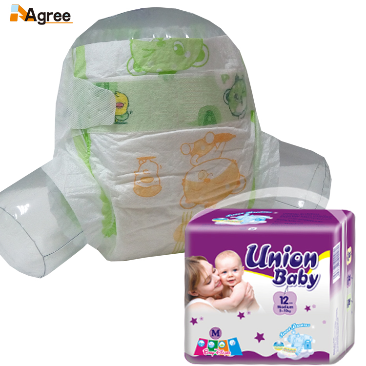 High quality breathable baby diaper in guangzhou