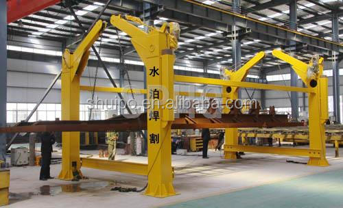 Chain type dumper positioner/chain type turning over machine
