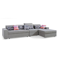 Foshan Furniture Bedroom/ Living Room Functional Folding Mini Corner Sofa