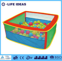Kids pop up fabric ball pit play tent