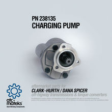 Charging Pump 238135 - CLARK HURTH / DANA SPICER