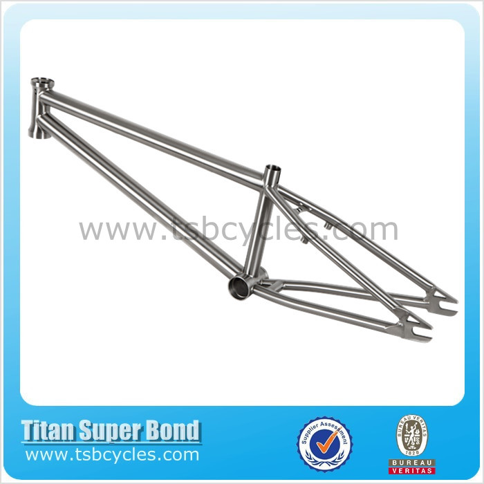 "Chinese cheap bmx racing bike frame 20"" race frame titanium TSB- BM1101"