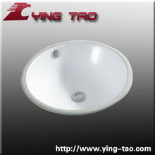 Chaozhou under counter basin nice price good quality western bathrooms hand wash ceramic basin man-made wash basin