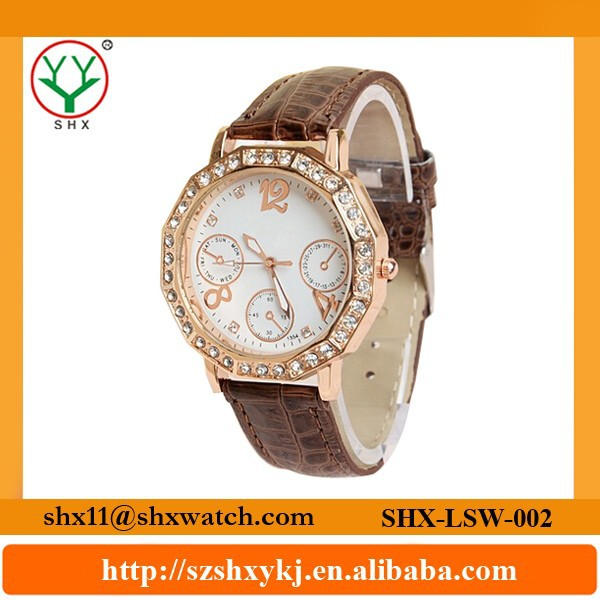 Factory supply delicate workmanship new styles ladies watches