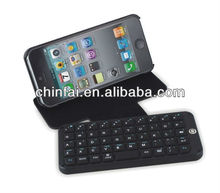 Portable design for Iphone4/4S multi-layout/language bluetooth v3.0 keyboards