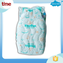 New style high quality soft cloth like baby diapers in Turkey