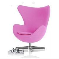 Fashion Jacobsen egg chair for children, children leisure chair