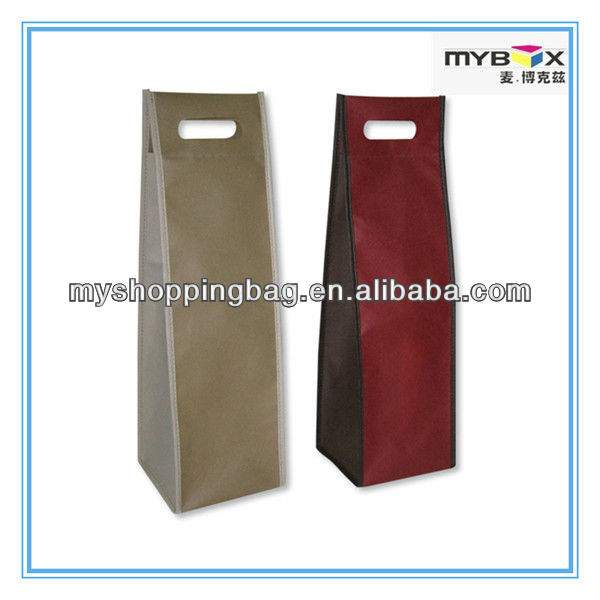 wenzhou manufacturer wine bottle bags with nonwoven fabric