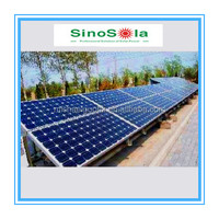 3KW Solar Power Plants Sinosola Manufactures
