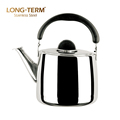 Customised Kitchenware Water Cooling Stainless Steel Whistling Kettle