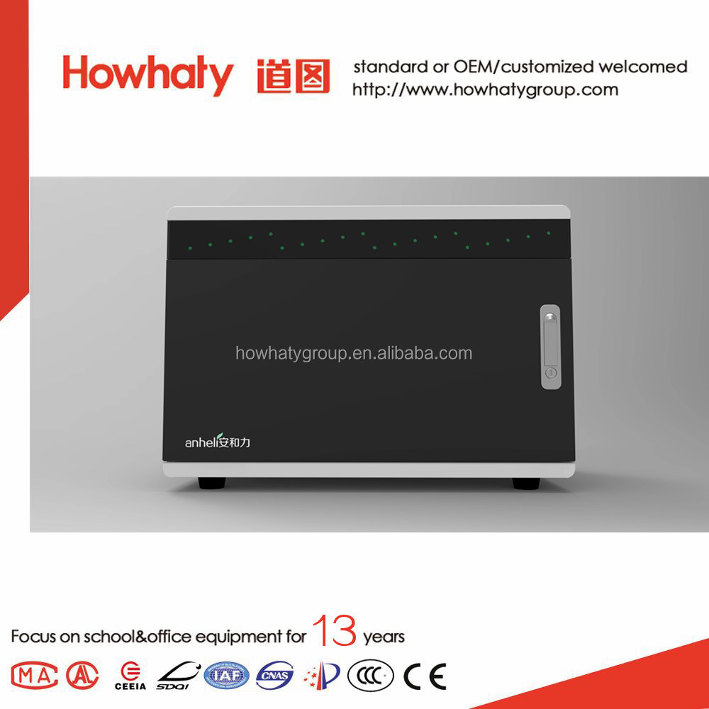 IOS/Android system tablet charging cabinet with CE, FCC, RoHS, CCC certificates