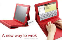 For iPad2 iPad3 iPad4 Case with Bluetooth Keyboard for Apple iPad Wifi/3G/iPhone 3G, 3GS, 4, iPod Touch, PC, Laptops