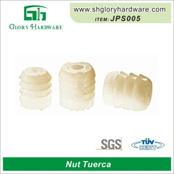 china furniture inserted nylon embedded nut
