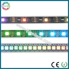 Smart pixel WS2812 RGB Waterproof smd led strip with WS2811IC