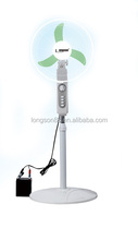 High class indoor solar fan solar stand fan