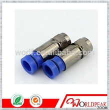 free samples Made In China F Type Waterproof RG11 RG6 Compression connector