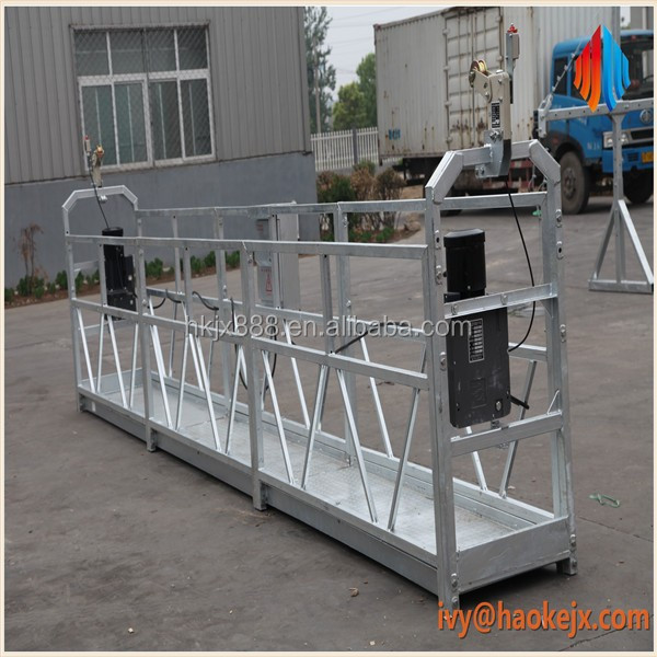 Factory Mobile Motor Suspended Work Cradle Window Cleaning