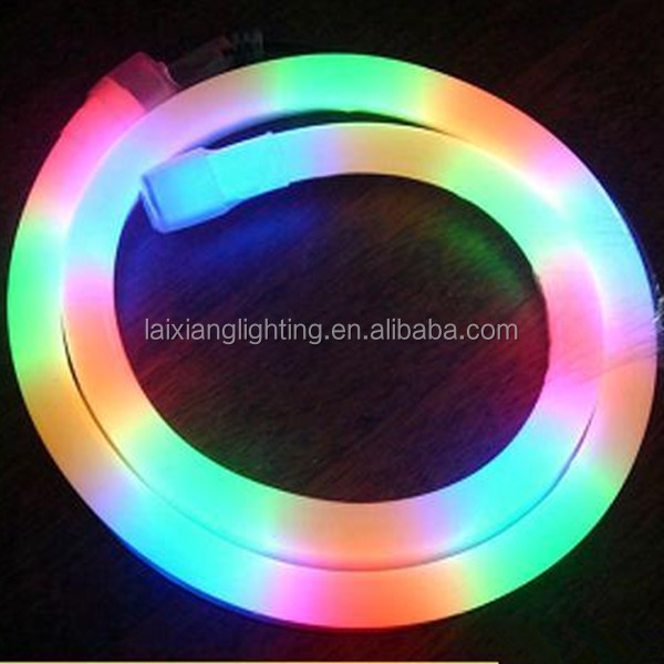 Guzhen factory direct selling Smart color changing high lumens Low valtage dimmable SMD led rope light with CE & RoHs
