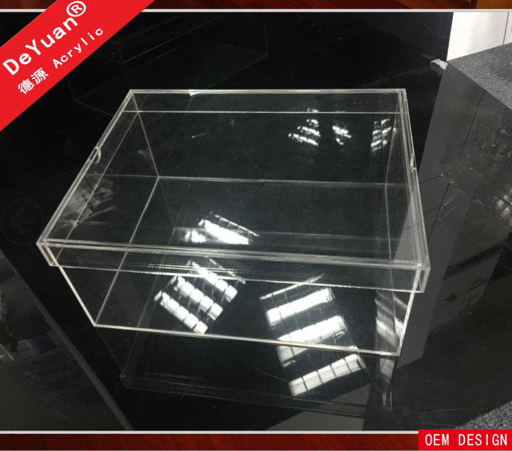 Transparent acrylic nike shoe box for display