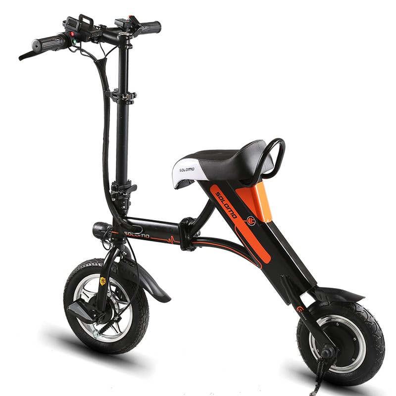 2016 hot folding electric bike, friction bicycle motor
