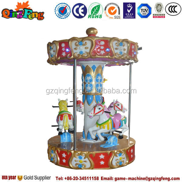 South America kids electronic animal carousel manufacturer in Guangzhou