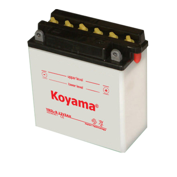 lead acid motorcycle battery YB5L-B-12V5AH Dry Charged motor battery