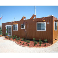 good insulated demountable estate strong build real estate 40ft Trade Assurance container houses