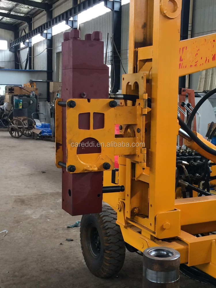 Hot sale excavator mounted pile driver