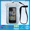 100% sealed new waterproof bag for apple iphone 5s with lanyard
