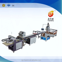 clamshell box/high grade covered box making line(with feeding)