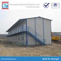 hot sale ISO certification modular mobile house plan in construction site