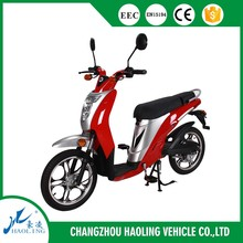 taiwan scooter parts CE/EEC high speed long range two wheel hub motor electric scooter with pedals for sale