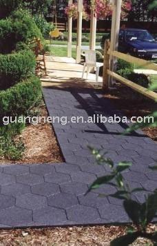 Recycled rubber baldosas hexagonales baldosas de caucho alicatados identificaci n del producto - Baldosas hexagonales ...