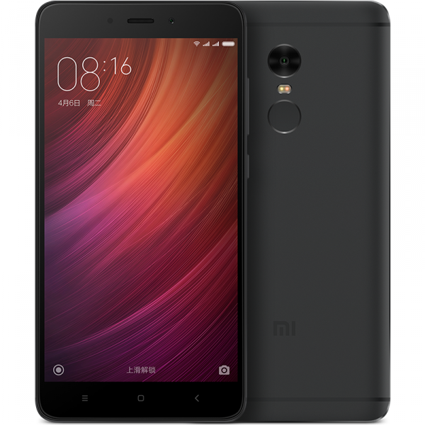 New arrival Xiaomi Redmi Note 4 4GB RAM 64GB ROM MTK Helix 20 5.5 inch metal body 4G LTE mobile phone
