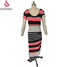 clothing manufacturers wholesale ribbed knit bodycon dress knee length dresses