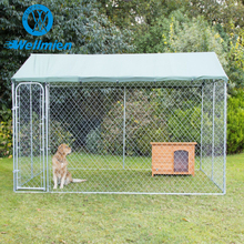 Large Outdoor Walk-In Poultry Aviary Chain Link Chicken Dog Cage/Metal Cage For Poultry