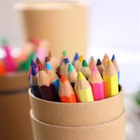 Bona wood art painting factory cheap wholesale oil pen green color pencil sets