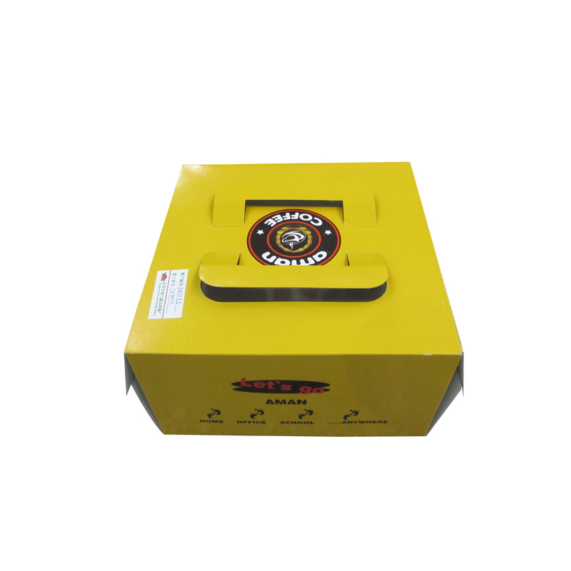 guangzhou suppliers cake paper box with handle wholesale